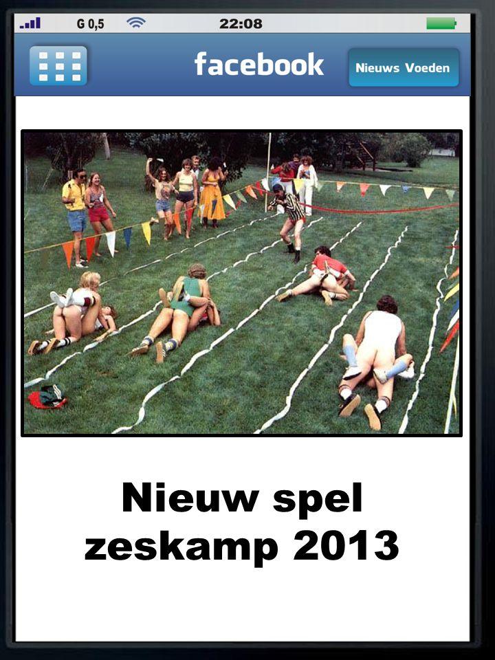 Nieuw spel zeskamp 2013