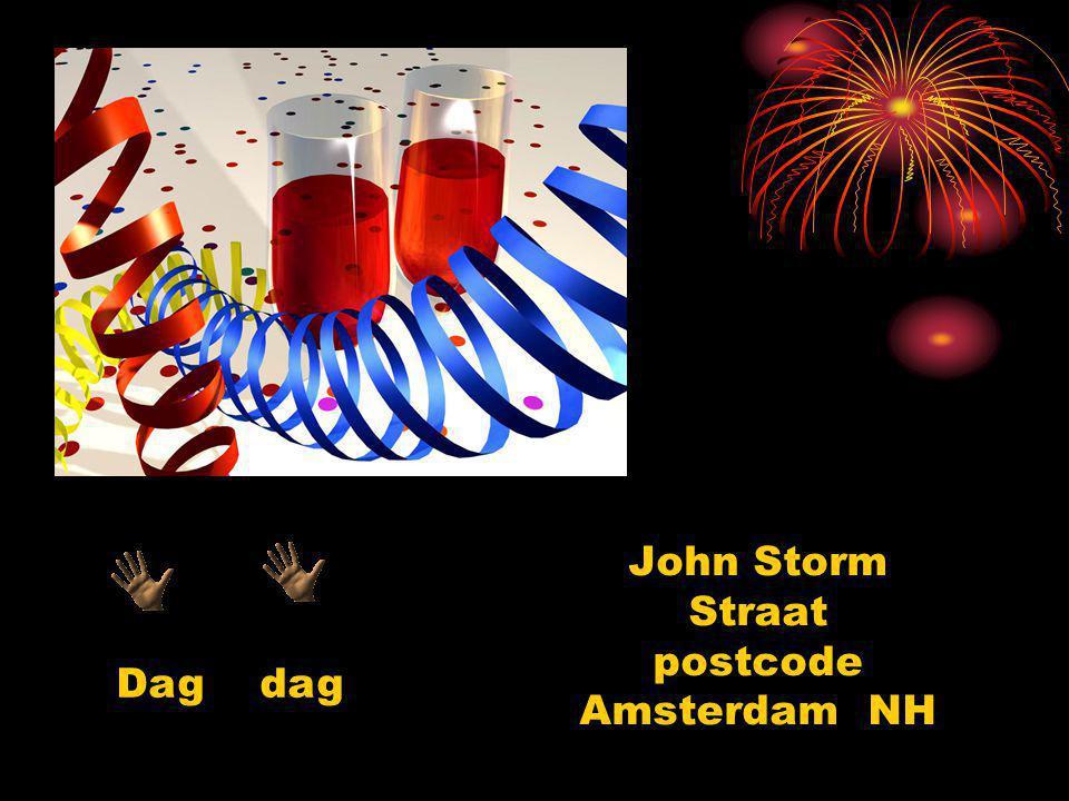Ik verzoek iedereen mij per mail youemail@hetnet.nl of via tel: 02012345678 mij te laten weten of je komt.
