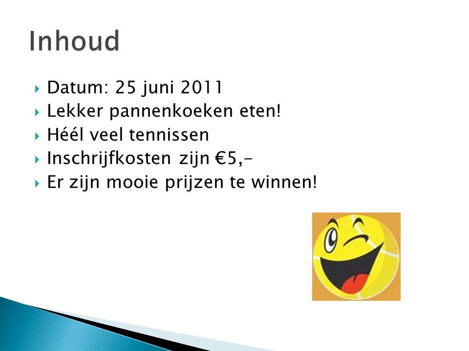  Datum: 25 juni 2011  Lekker pannenkoeken eten.