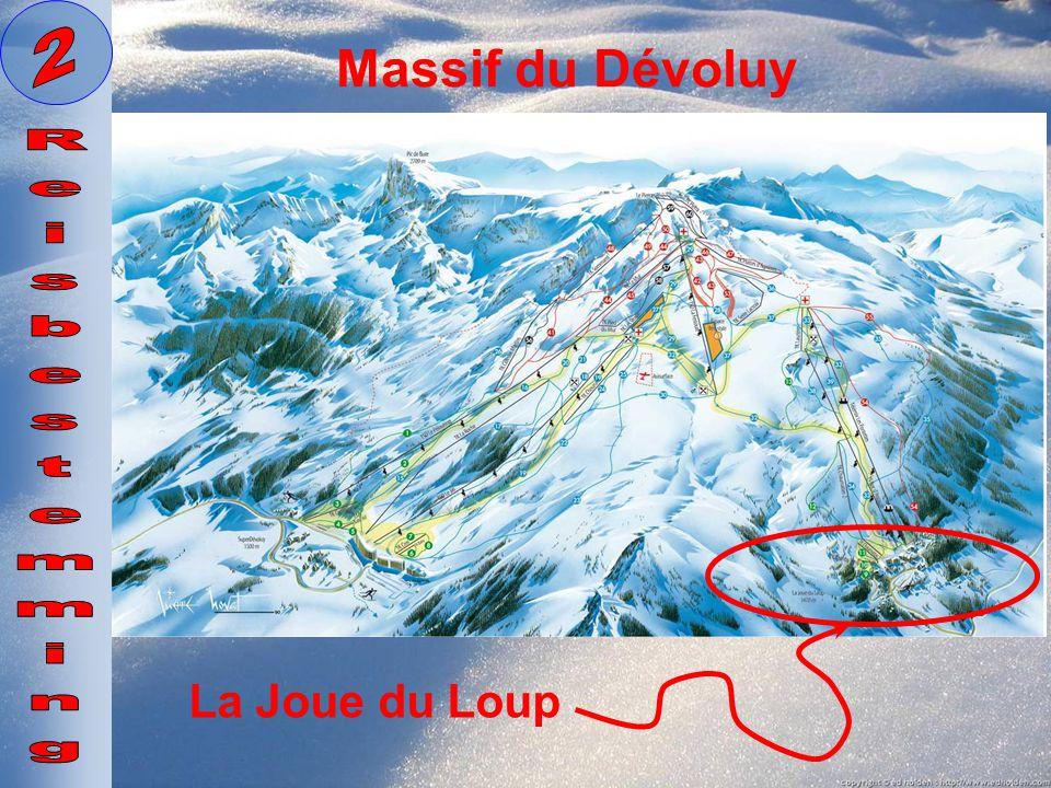 La Joue du Loup Massif du Dévoluy