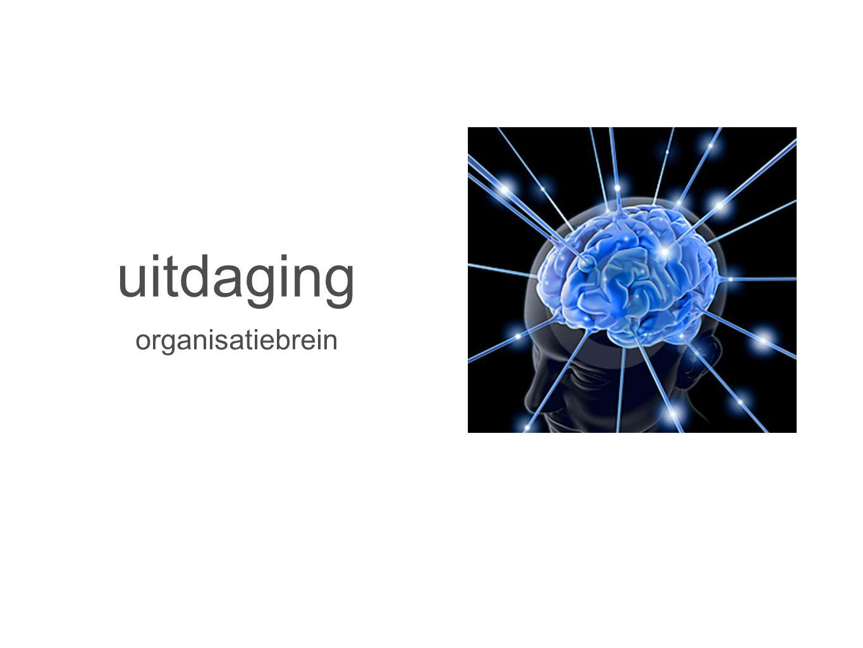 uitdaging organisatiebrein