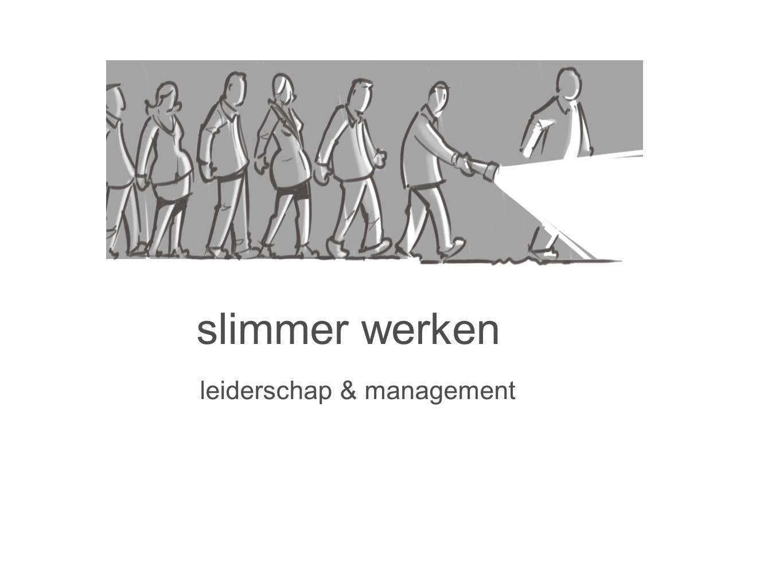 slimmer werken leiderschap & management