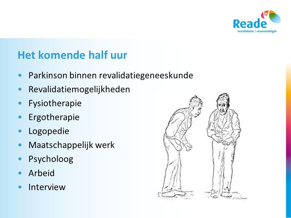 Take home message •Samenwerking in de regio.•Beperkingen op meerdere gebieden  revalidatiearts.