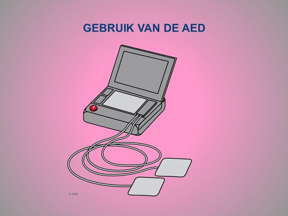 GEBRUIK VAN DE AED