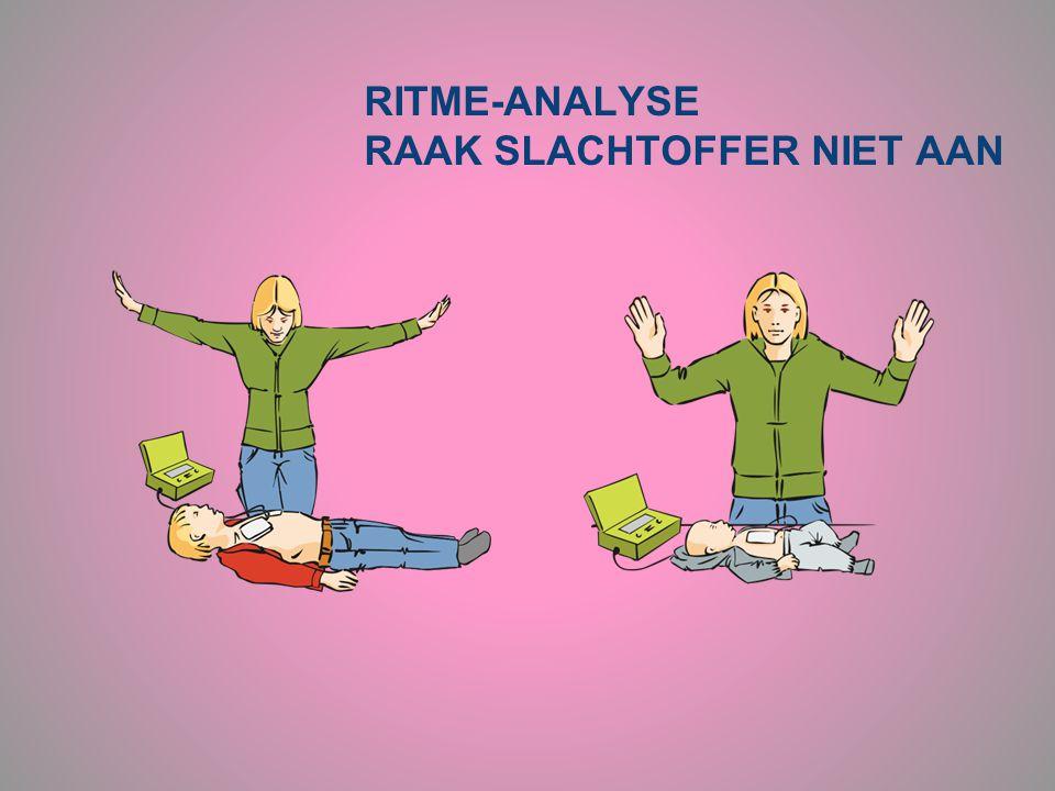 RITME-ANALYSE RAAK SLACHTOFFER NIET AAN
