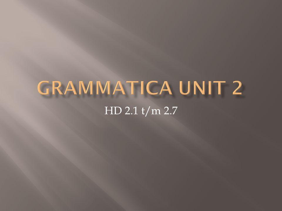 HD 2.1 t/m 2.7