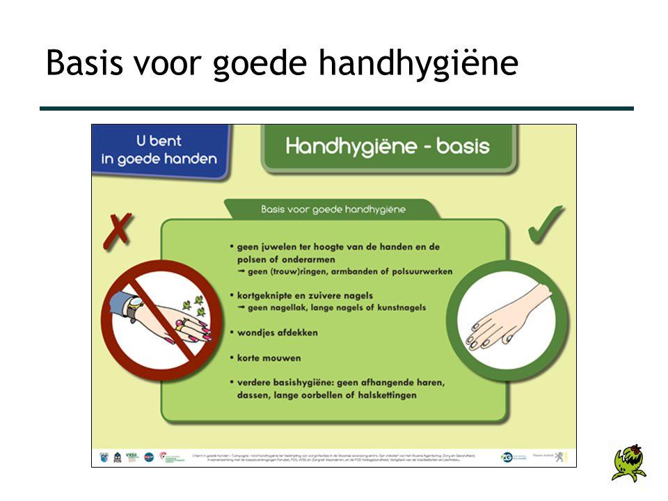 Basis voor goede handhygiëne