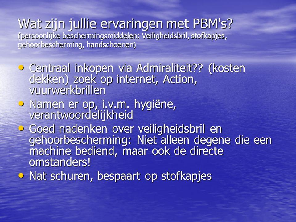 Wat zijn jullie ervaringen met PBM s.