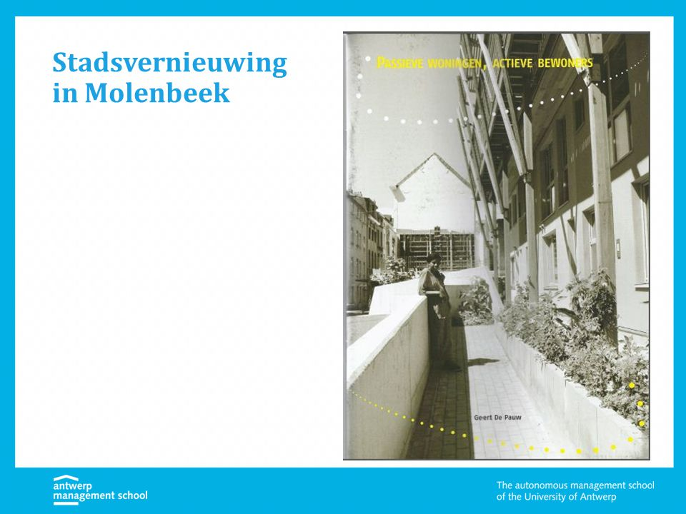 Stadsvernieuwing in Molenbeek