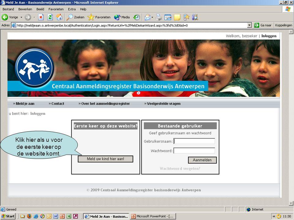 U kan een school kiezen op naam, adres, net of postcode.