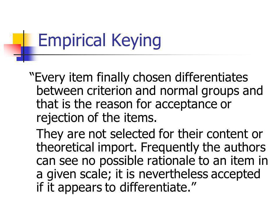 Beperkingen van empirische werkwijze 1.