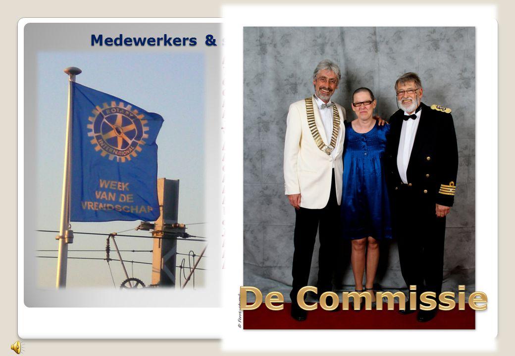 Medewerkers & sympatisanten van 10 jaren Leden en dames van RC Oostende Thermae Palace Hotel Ostend Tennis Club Ostend Bowling Stene Koninginnehof Oos