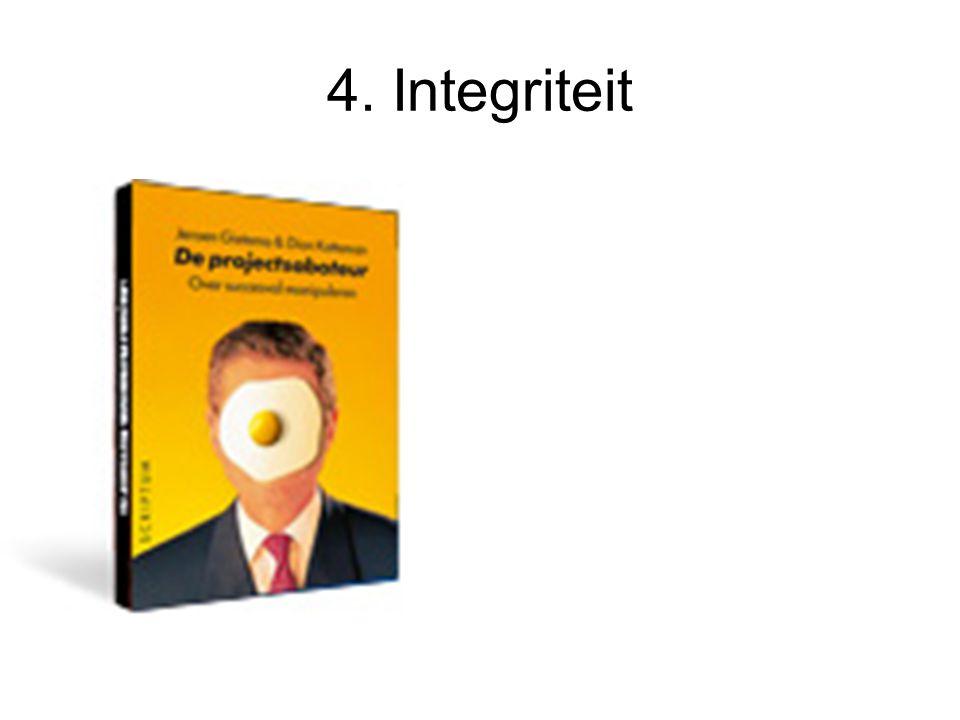 4. Integriteit