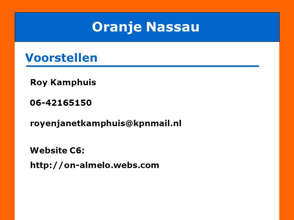 Doelstelling van de club en trainer Oranje Nassau ALLE spelers met PLEZIER beter leren voetballen