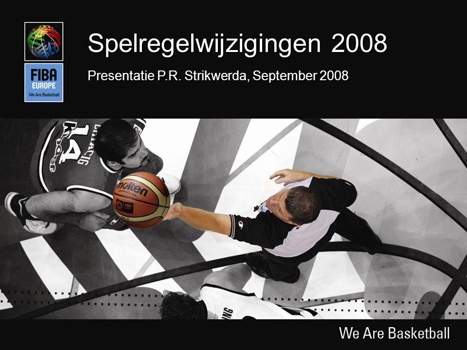 Slide 1 Spelregelwijzigingen 2008 Presentatie P.R. Strikwerda, September 2008