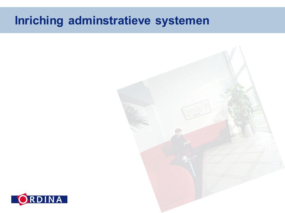 Inriching adminstratieve systemen