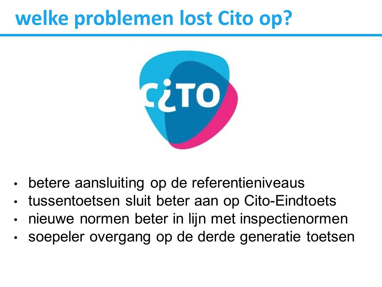 welke problemen lost Cito op.