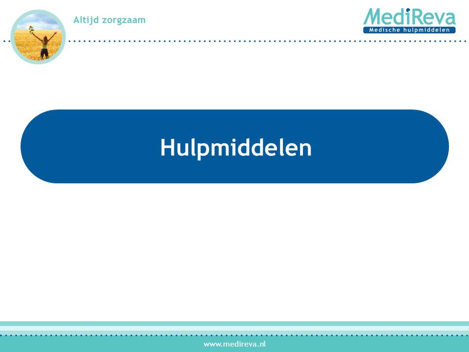 www.medireva.nl Maatwerk Steunbroek •Ondersteuning van de hernia •Bij middelgrote tot zeer grote breuk; waarbij een standaard steunbroek niet meer toereikend is •Bij matige tot ernstige pijnklachten