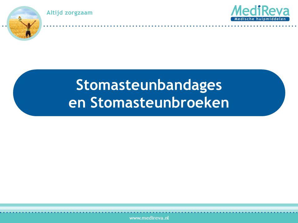 www.medireva.nl Stomasteunbandages en Stomasteunbroeken