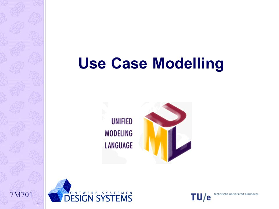 7M701 22 Use Case diagram voorbeeld