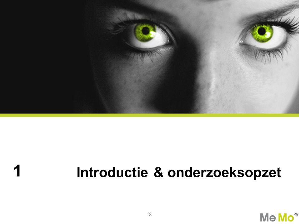Introductie & onderzoeksopzet 1 3