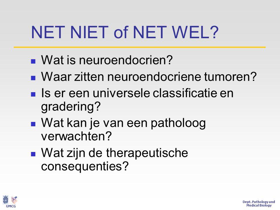 Wat is neuroendocrien / entero- endocrien.