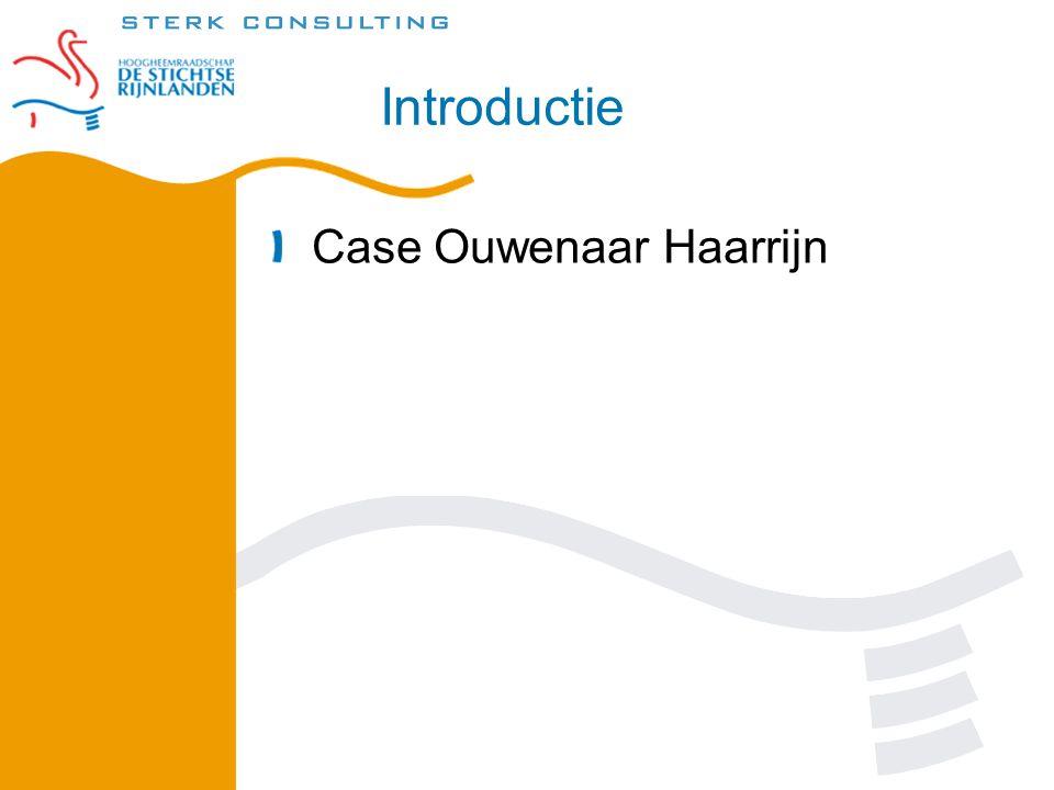 Introductie Case Ouwenaar Haarrijn