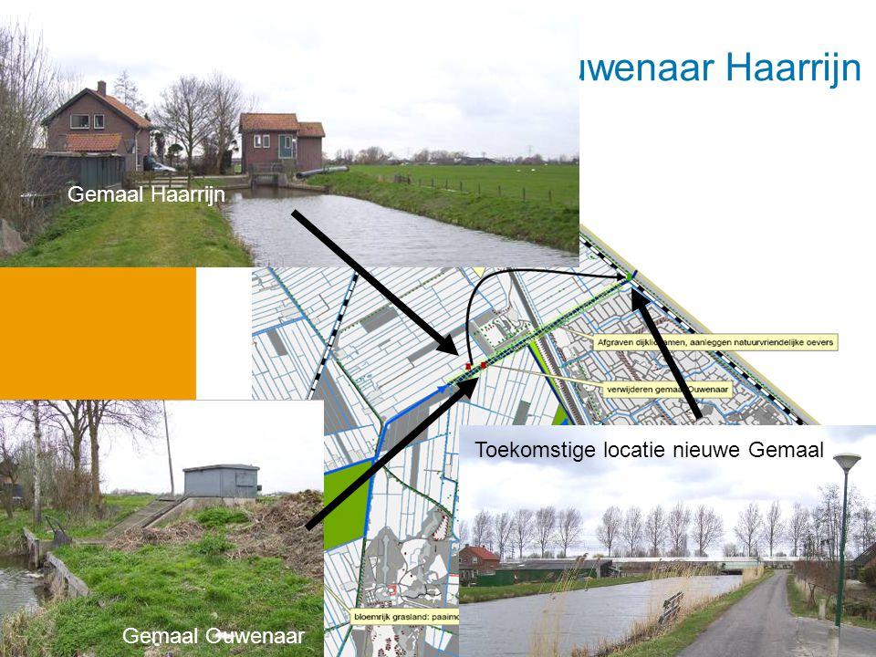 Case: project Ouwenaar Haarrijn Toekomstige locatie nieuwe Gemaal Gemaal Ouwenaar Gemaal Haarrijn