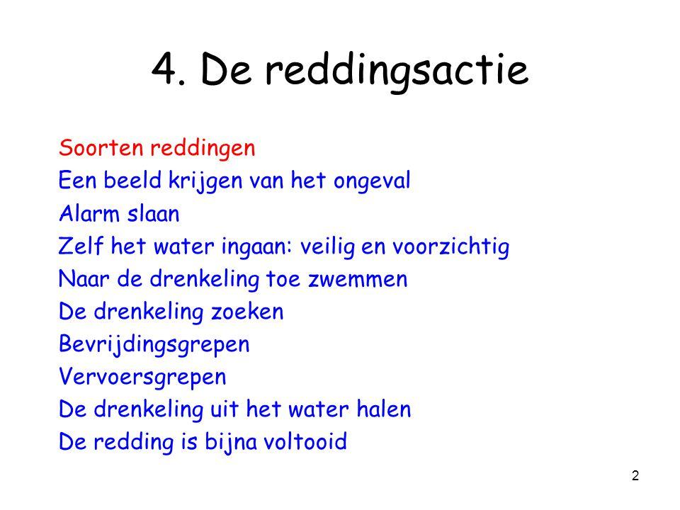 42 Zelf het water ingaan Hoekduik è duiken doe je vanaf het wateroppervlak!!.