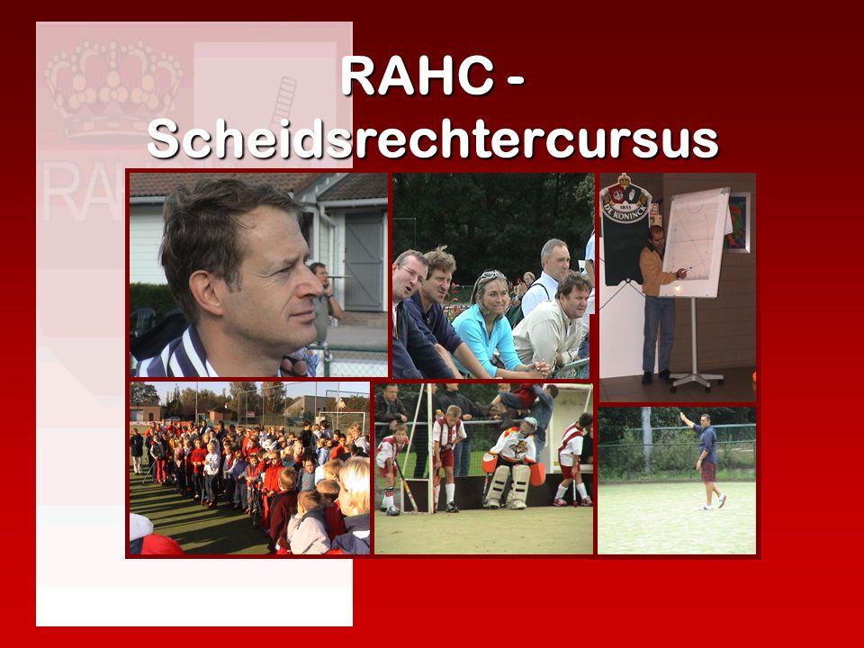 RAHC - Scheidsrechtercursus