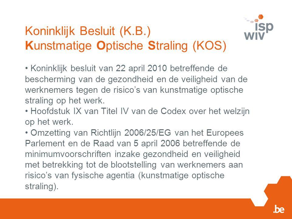 RISICOBEOORDELING K.B.