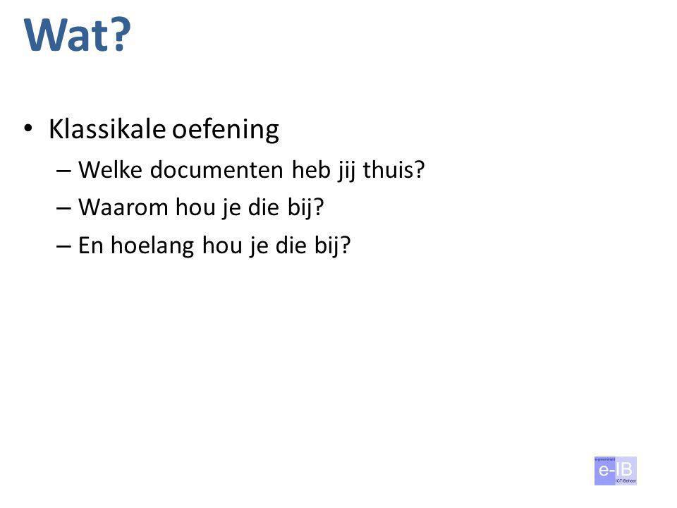 Waarom? 7 Wij Vlaamse overheid