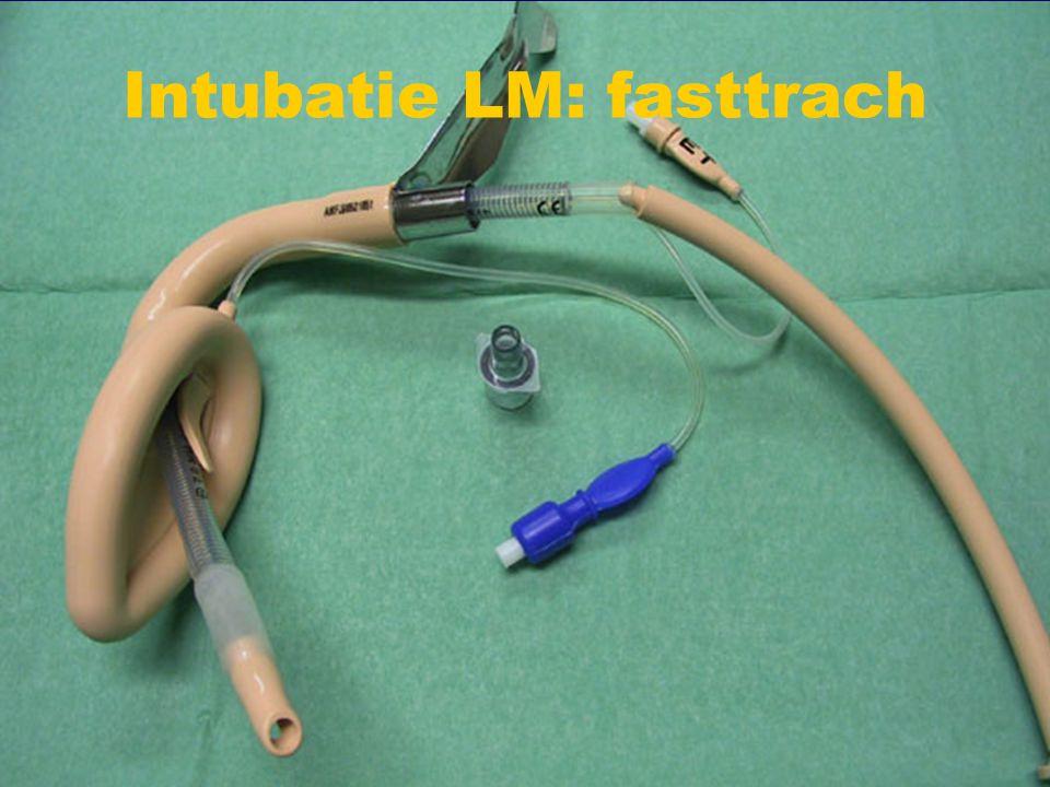 Intubatie LM: fasttrach