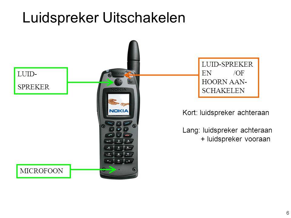 7 TOETSEN VOOR VERSCHEIDENE FUNCTIES TELEFOONOPROEP (DUPLEX) = « AFHAKEN » « INHAKEN » Groepsgesprek 1 min onderdrukken Multifunctionele Toetsen ALFANUMERIEKE TOETSEN MAKEN VAN EEN BOODSCHAP, VORMEN VAN EEN TELELFOONNUMMER
