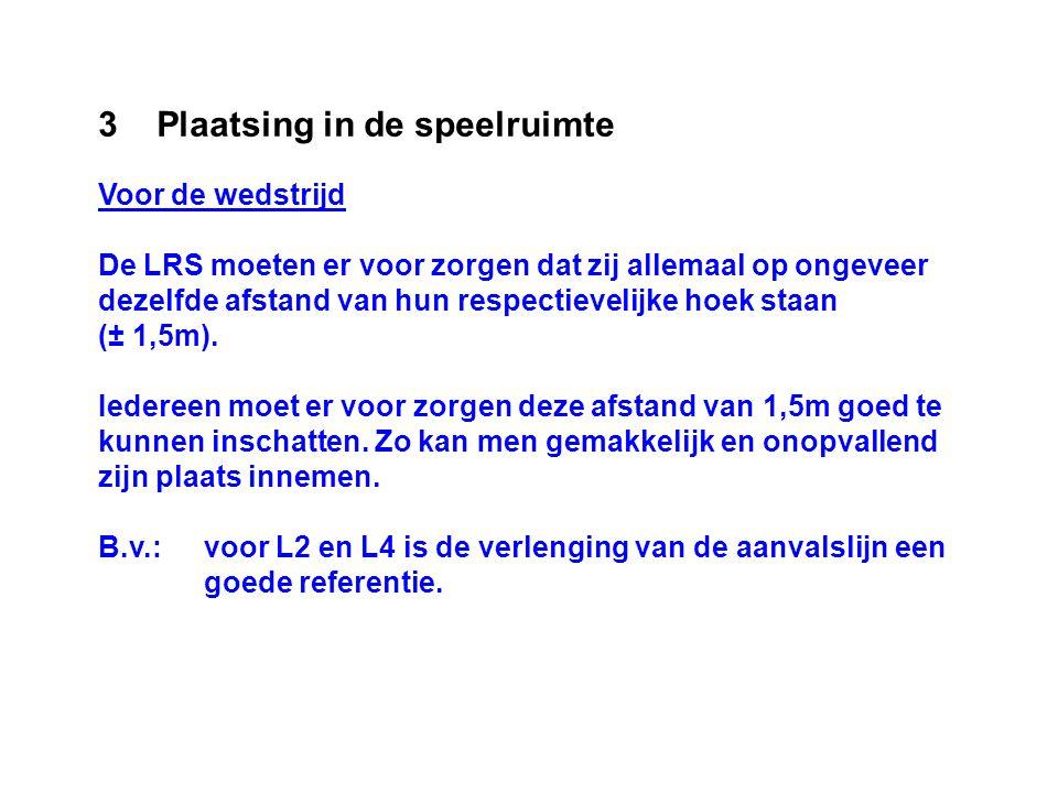 4 Verantwoordelijkheden De LRS moeten zich ervan vergewissen dat hun teken(s) werd(en) waargenomen door de 1SR.