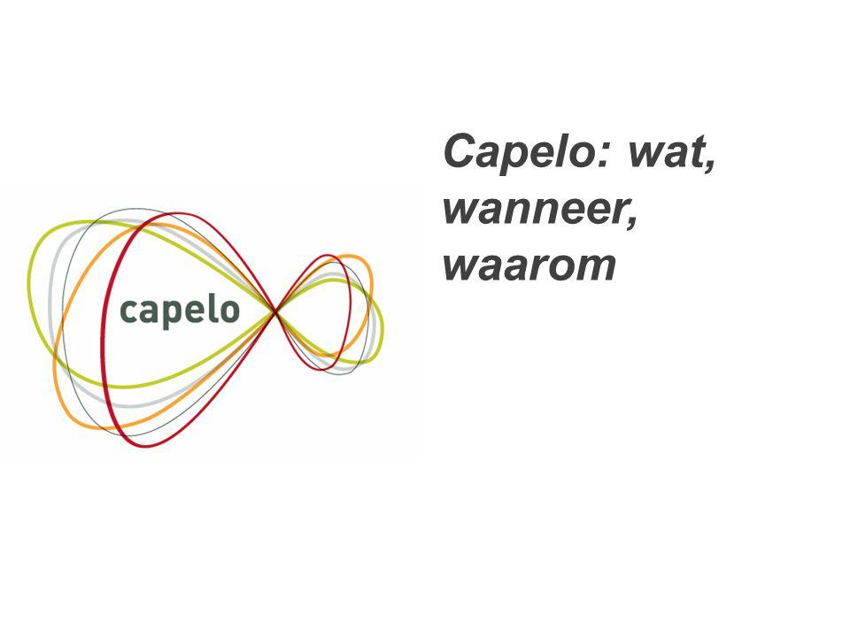 3 Capelo: wat, wanneer, waarom