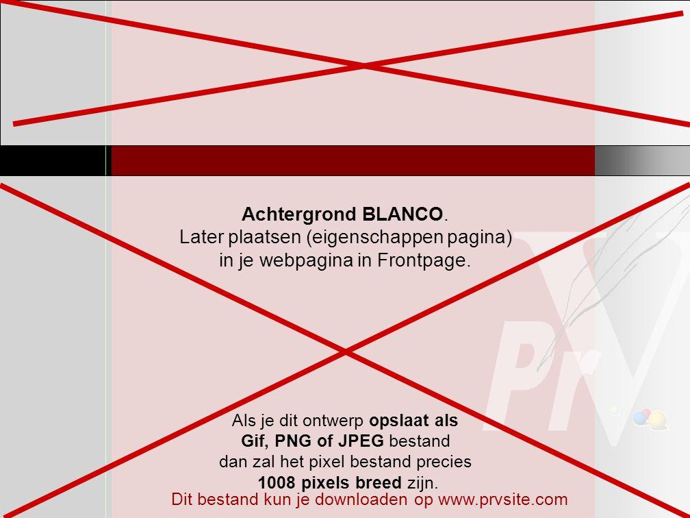 Maak hier het ontwerp voor de gemeenschappelijke rand boven (later opslaan als Gif, PNG of JPEG) A3 Webontwerp PowerPointbestand voor achtergrond en gemeenschappelijke rand Controleer linksboven bij bestand/paginainstelling of dit document op A3 staat ingesteld Als je dit ontwerp opslaat als Gif, PNG of JPEG bestand dan zal het pixel bestand precies 1008 pixels breed zijn.
