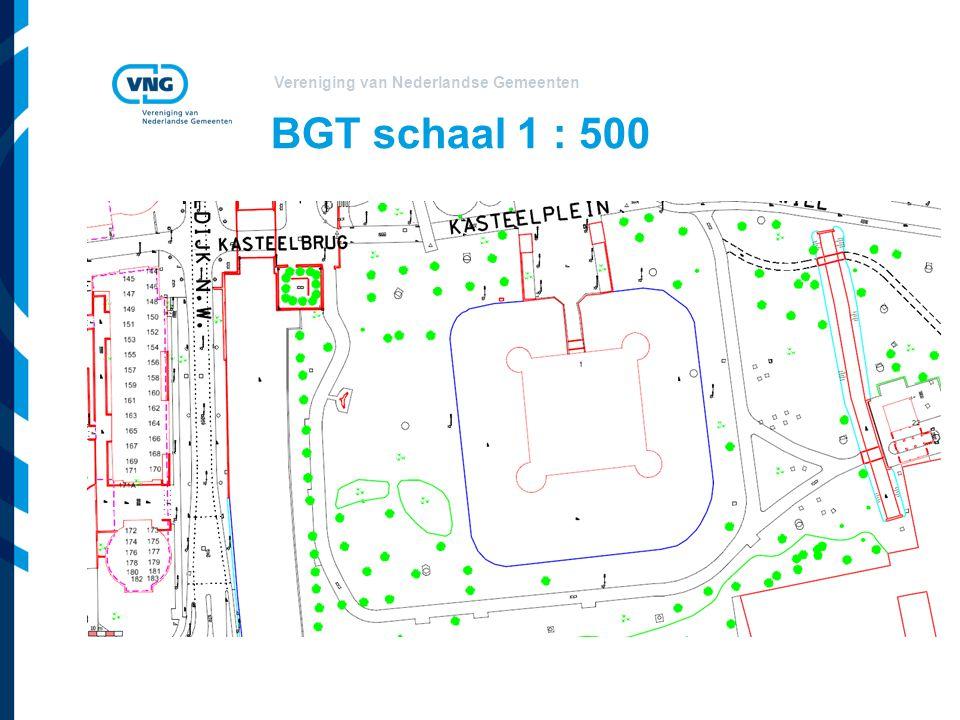 Vereniging van Nederlandse Gemeenten BGT schaal 1 : 500