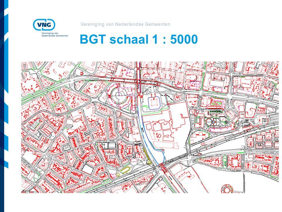 Vereniging van Nederlandse Gemeenten BGT schaal 1 : 5000