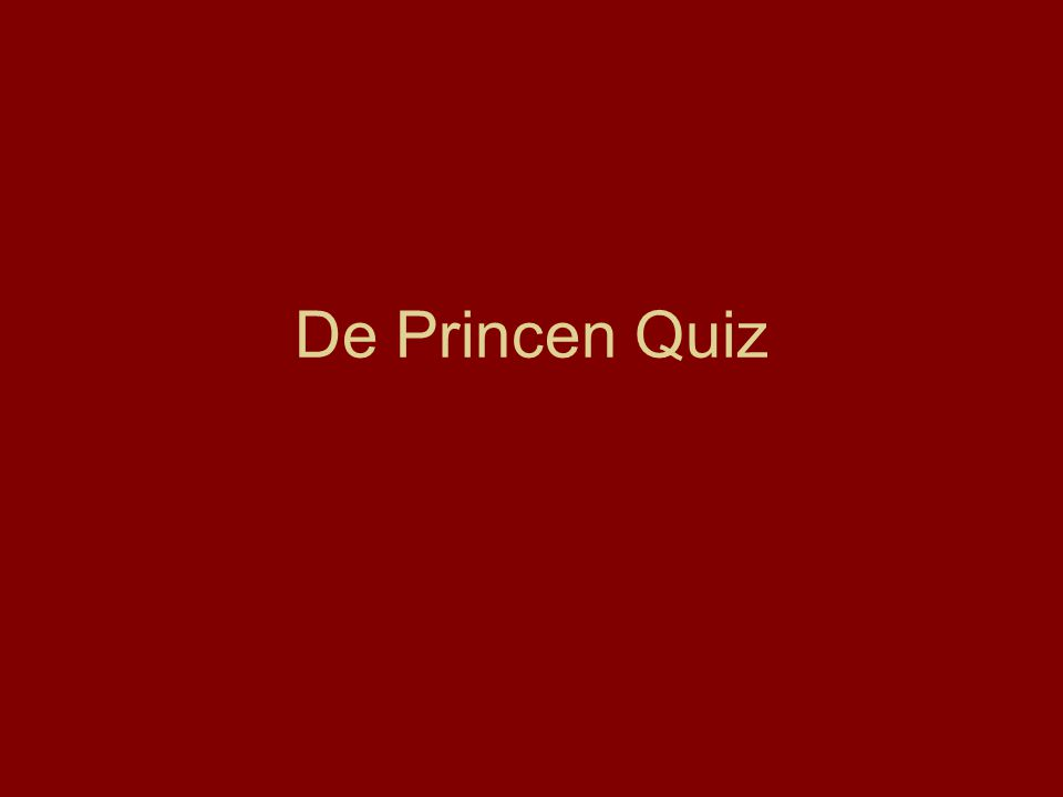 De Princen Quiz