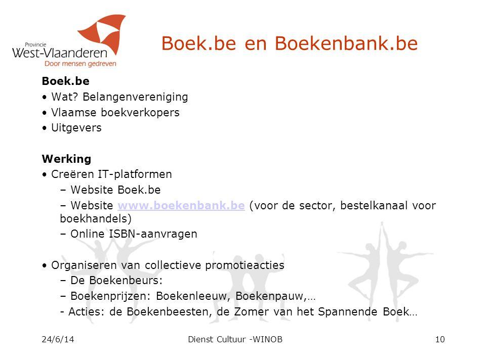Boek.be en Boekenbank.be Boek.be • Wat.