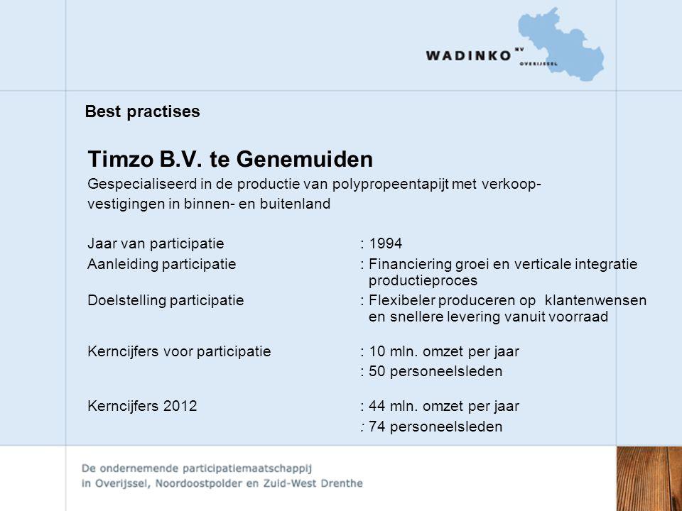Best practises Timzo B.V.