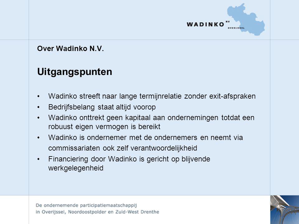Over Wadinko N.V.