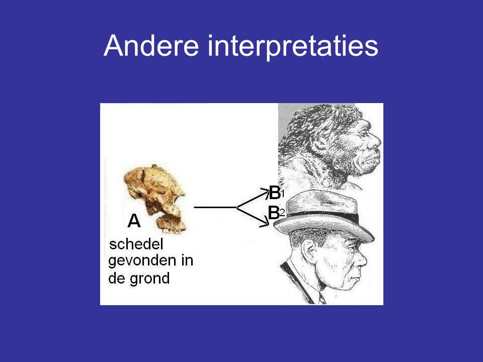 Andere interpretaties