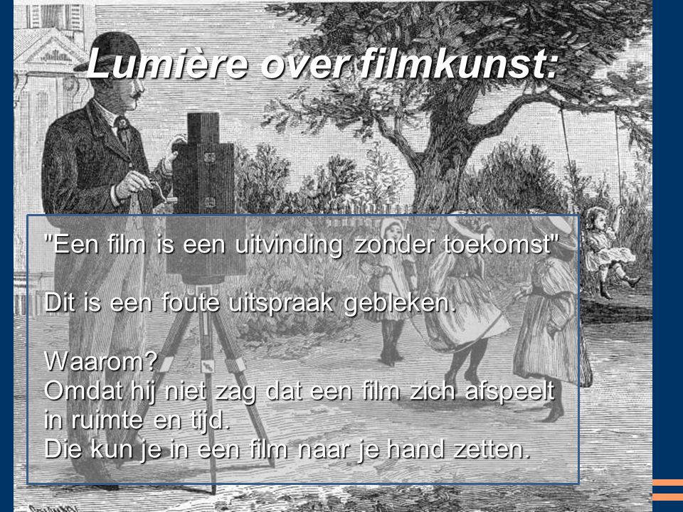 Lumière over filmkunst: