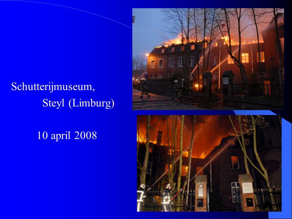Schutterijmuseum, Steyl (Limburg) 10 april 2008
