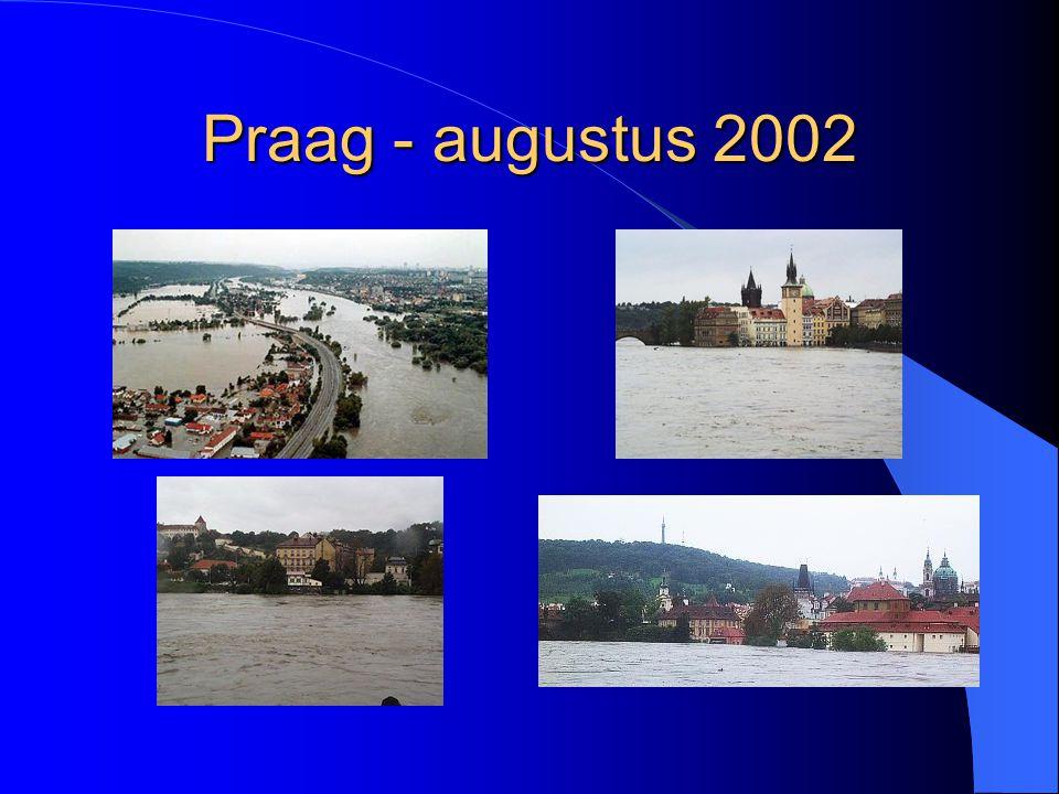 Praag - augustus 2002
