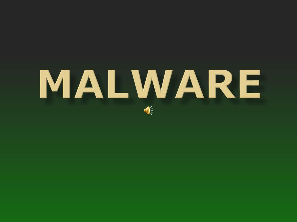 Malware is een verzamelnaam voor schadelijke en ongewenste sofware.