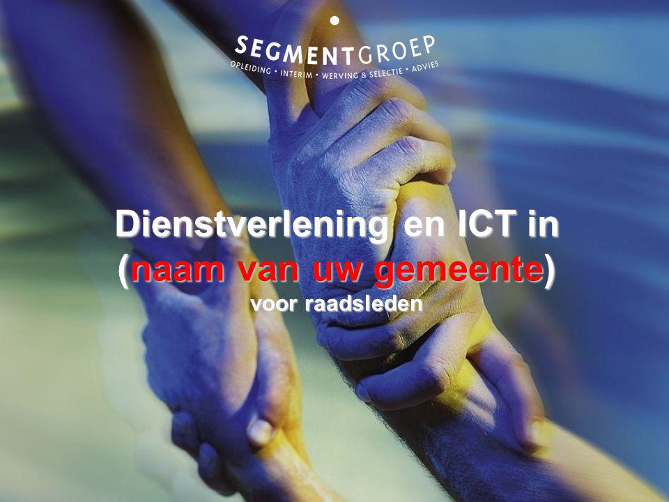 Dienstverlening en ICT in (naam van uw gemeente) voor raadsleden