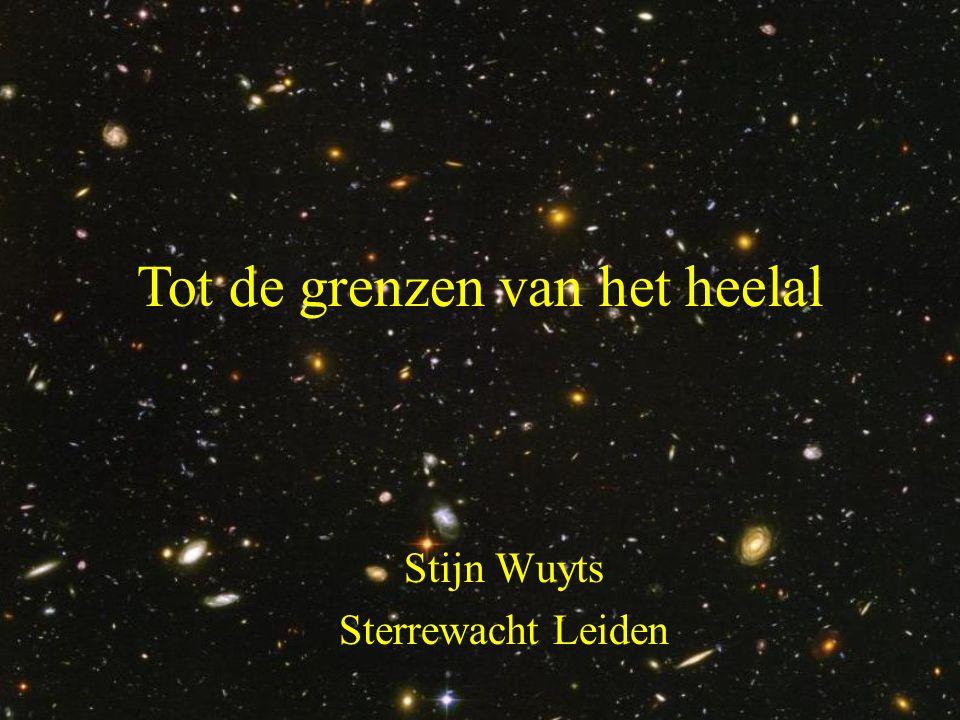 • Drop-out techniek Hoe vind je verre sterrenstelsels.
